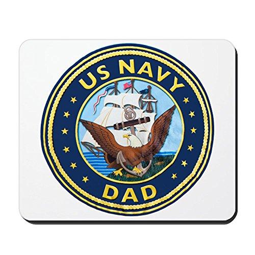 Mousepad (Mouse Pad) US Navy Dad Bald Eagle Anchor Ship ()