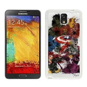 Batman Case For Samsung Galaxy Note 3 White