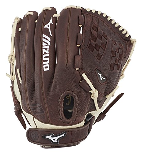 "Mizuno GFN1250F3 Frachise Series Fastpitch Softball Gloves, 12.5"", Right Hand Throw"
