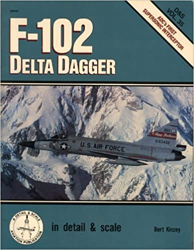 F-102 Delta Dagger in detail & scale - D&S Vol. 35 by Kinzey, Bert (1990)