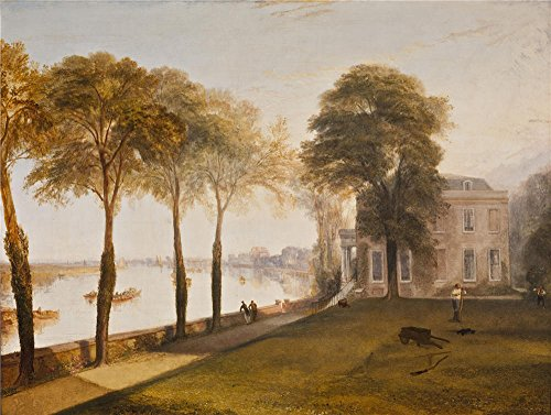 [Oil Painting 'Joseph Mallord William Turner - Mortlake Terrace Early Summer Morning, 1826' 16 x 21 inch / 41 x 54 cm , on High Definition HD canvas prints, Home Office, Kids Room And Powder Ro] (Trailer Trash Outfits)