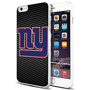 NYG NEW YORK GIANTS , , Cool iPhone 6 Plus (6+ , 5.5 Inch) Smartphone Case Cover Collector iphone TPU Rubber Case White [By PhoneAholic] by mcsharks