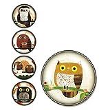 iPOP Kate Endle Owls Clicks Magnet Set Duo