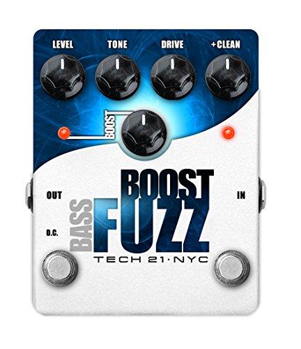 Tech 21 Bass Boost Fuzz Metallic by tech21