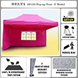 10'x15′ Pop up Canopy Wedding Party Tent Gazebo EZ Pink – F Model Commercial Frame By DELTA Canopies Review