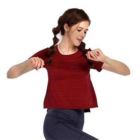 LDDOTR Camisas de Entrenamiento para Mujer, Camisas ...
