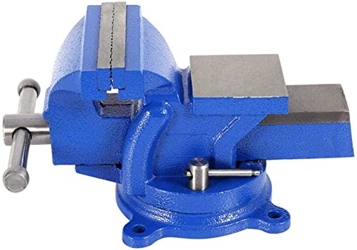 """HEAVY DUTY 4/"""" WORK BENCH VICE VISE WORKSHOP CLAMP ENGINEER JAW SWIVEL BASE TABLE"""