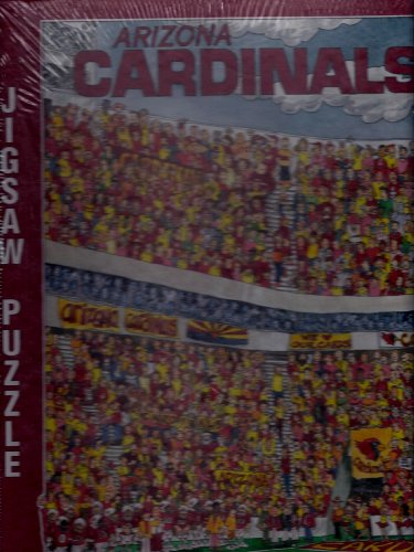 NFL Arizona Cardinals Fandemonium Jigsaw Puzzle 1994 John Holliday 513 ()