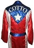 Miguel Cotto Signed Puerto Rico Robe