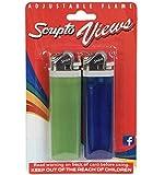 Scripto Views Adjustable Lighters, 2-ct. Packs