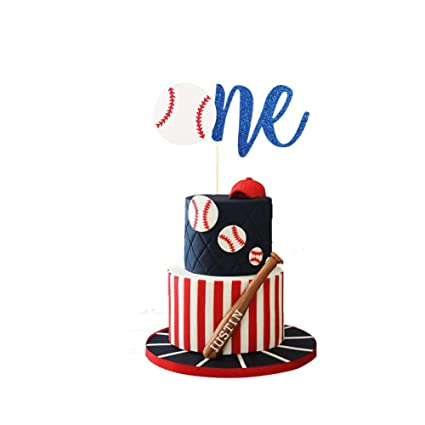 Awesome Baseball Cake Topper Concessions Cake Topper One Cake Topper Funny Birthday Cards Online Necthendildamsfinfo