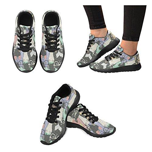 Scarpa Da Jogging Leggera Da Donna Running Jogging Leggera Easy Go Walking Comfort Sportivo Scarpe Da Ginnastica Multi 9