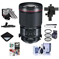 Canon TS-E 135mm f/4.0L Tilt-Shift Macro Lens - U.S.A. Warranty - Bundle With 82mm Filter Kit, Focusing Rail Fine Control for Macro Photography, LensAlign MkII Focus Calibration System, And More