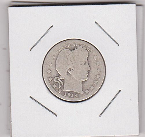 1914 Barber Quarter Good