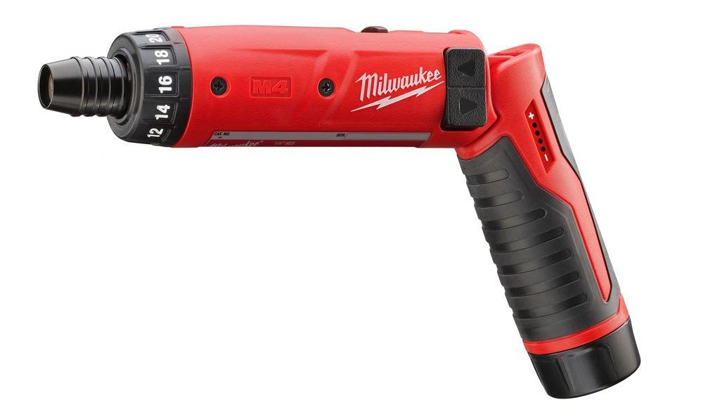 Milwaukee M4D//2.0 Ah Atornilladora