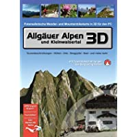 Allgäuer Alpen und Kleinwalsertal 3D (Fotorealistische Wander- und Mountainbikekarte in 3D für den PC)