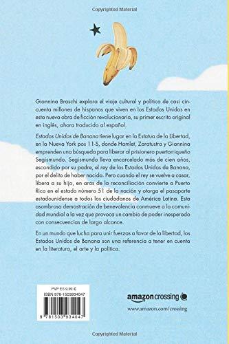 Estados Unidos de Banana (Spanish Edition): Giannina Braschi ...