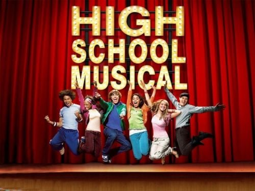High School Musical Edible Party Cake Image Topper