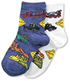 Country Kids Boys Heavy Equipment Sock 2 Pairs