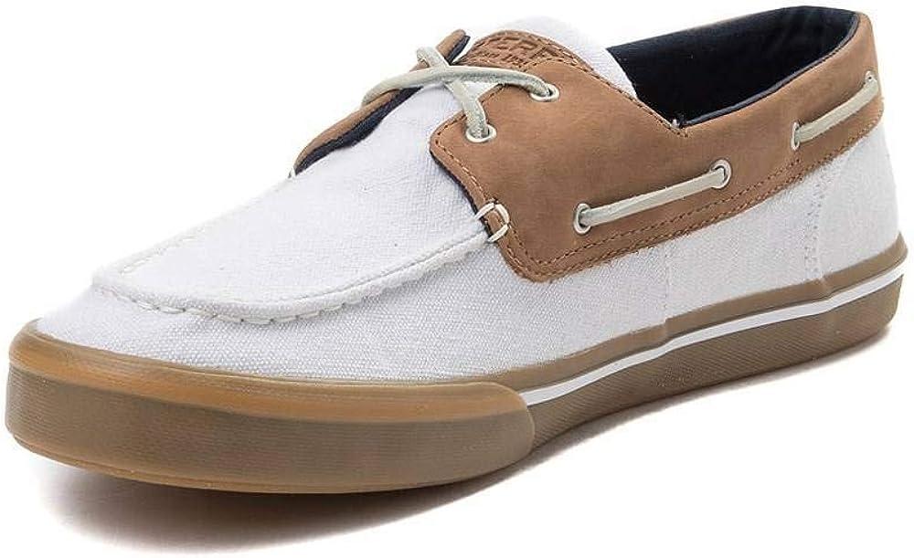 Sperry Bahama 2eye, Chaussures voile homme Kaki Marron