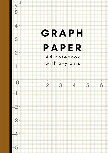 A4 Graph Paper Notebook Composition: Coordinate Paper For Engineers; Grid Paper For Students In Math, Science & School Design Projects; 5x5 Squared Paper Exercise Workbook; With X-Y Ruler Line Printed