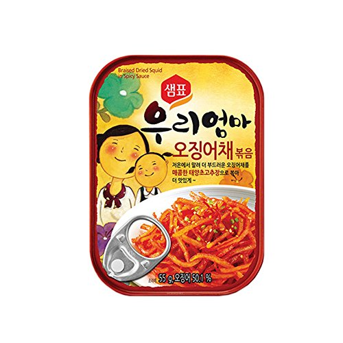 [Sempio]Mother Made Sweet and Sour Squid Marinate 5EA/Good for any meal/Delicious Side Dish/Dongwon/Tuna/오징어채/샘표