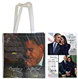 ''Twin Pack'' Barack and Michelle '' Calendar & Prophecy Fulfilled Bag