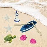 CDDLR 20 Pieces Beach Style Miniature Dollhouse