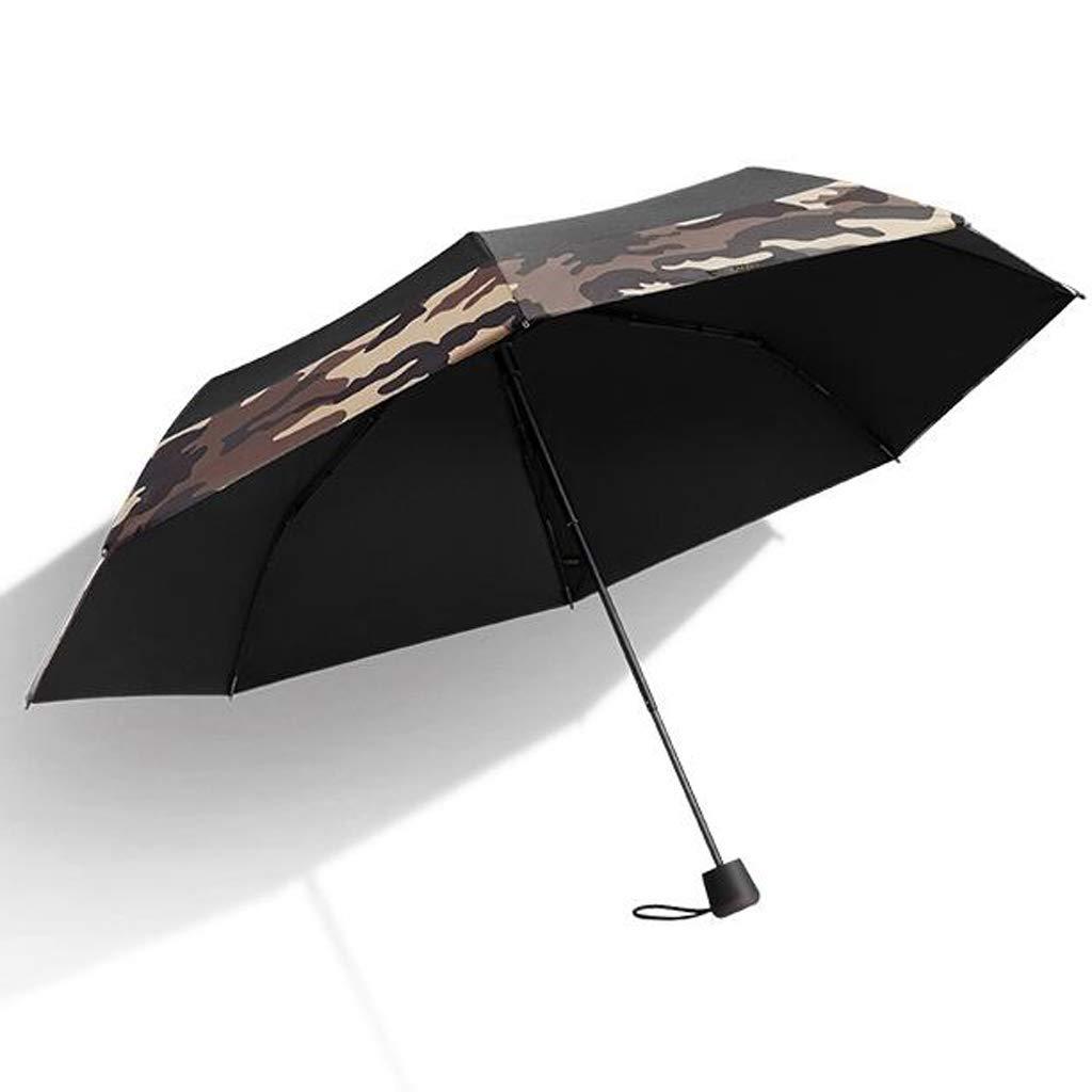 JSSFQK Household Umbrellas Sun Protection UV Umbrellas Ultra Lightweight Shoes Folding Umbrellas Two Eye Colors are Available Umbrella (Color : A)