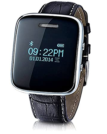 74c0d40673 Amazon | 通話 可能 Bluetooth 搭載 デジタル 腕時計 着信 通知 ハンズ ...