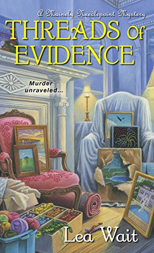 Cozy Modern Quilts (Threads of Evidence (A Mainely Needlepoint Mystery))
