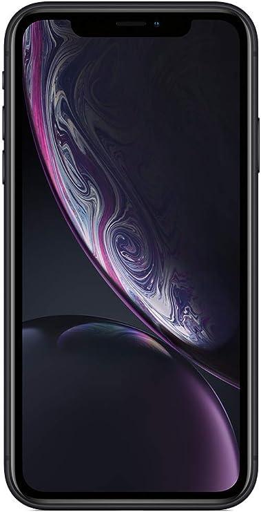 Apple iPhone XR (128GB) - Negro (incluye Earpods, adaptador de corriente): Apple: Amazon.es