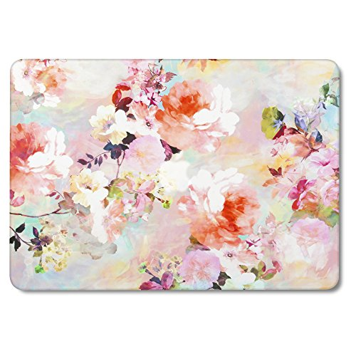 GMYLE MacBook Air 13 Inch Case A1466, Soft-Touch Smooth Snap On Matte Plastic Hard Pattern Cover for Apple Mac Air 13