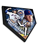Noah Syndergaard Collectible Home Plate Baseball Plaque - 11.5x11.5 Photo - Licensed MLB Baseball Collectible