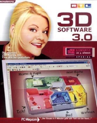 RTL 3D Software 3.0 - Einsatz in 4 Wänden: Tine Wittler: Amazon.de ...