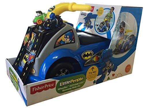 Fisher-Price Little People Wheelies Gotham City Raceway Ride-on