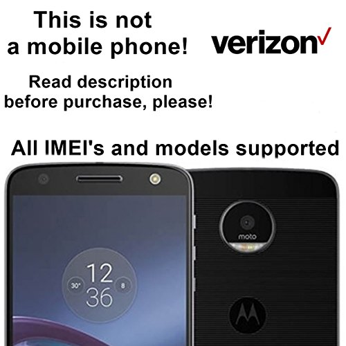 Verizon Wireless USA Unlocking Service for Motorola Moto G4, G4 Play, Atrix 2, Moto E, BRAVO, RAZR V3, Backflip, FLIPSIDE and Other Models Which Ask For an Unlock Code - Make Your Device More Useful Than Before - Choose Any Carrier at Your Own at Any Time You Need - No Re-lock Lifetime Guarantee
