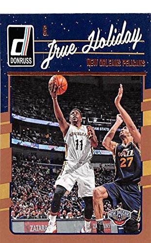 Jrue Holiday basketball card (New Orleans Pelicans Guard FREB) 2016 Donruss - Guard Pelican