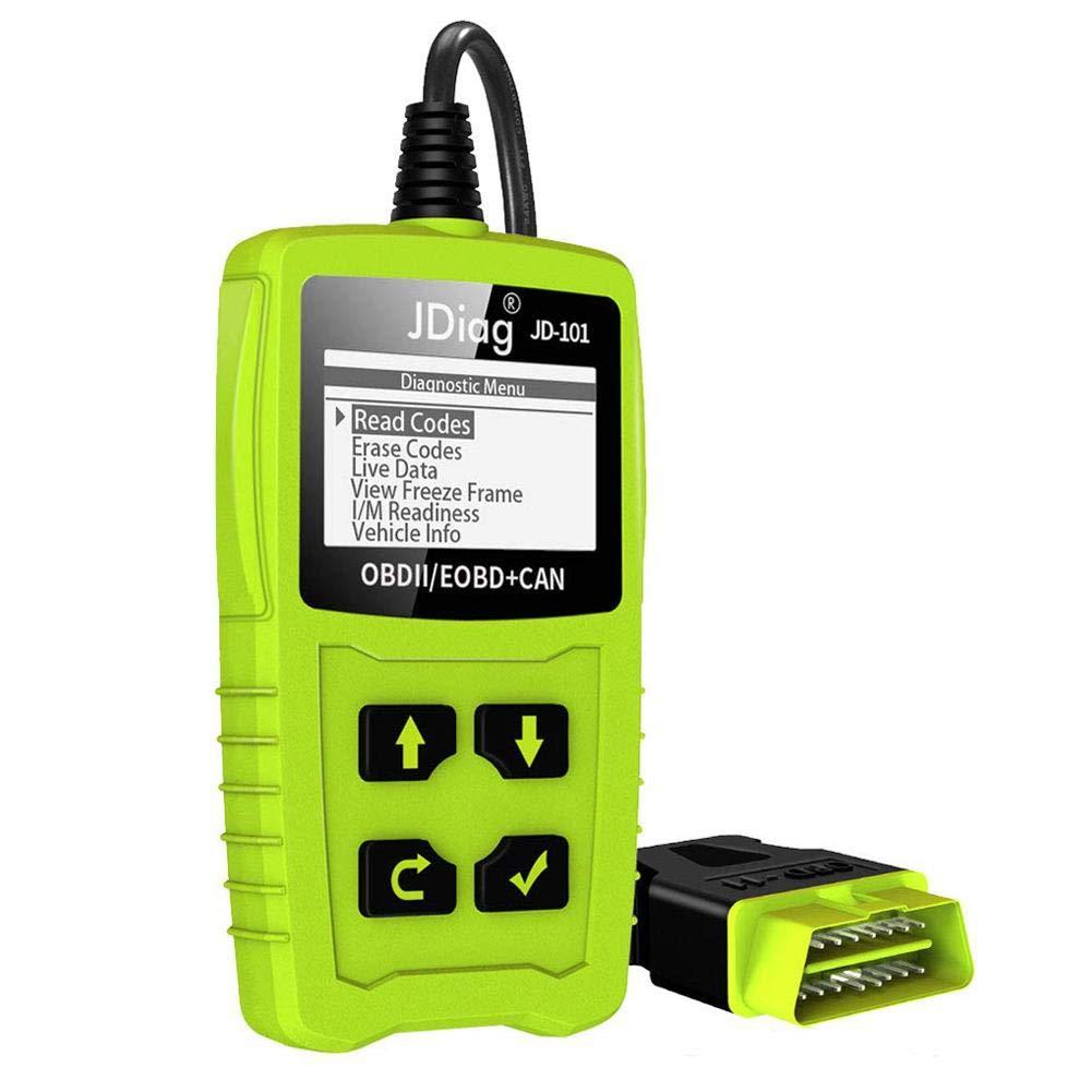 blue--net OBD2 Reader, Universal OBDII Car Diagnostic Scanner Tool, Automotive Engine Fault Vehicle Error Code Reader Diagnostic Device Compatible for JD101 OBDII EOBD AL519