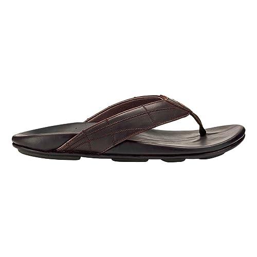 e86953208a2 OLUKAI Men s Hokule a Kia Dark Wood Dark Wood 15 D US D (M)  Amazon.co.uk   Shoes   Bags