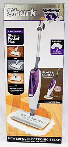 Blast & Scrub Steam Pocket Mop () - Shark S4601