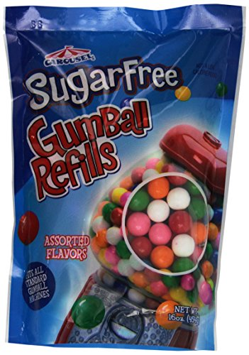 Sugar Free Gumballs 16oz Green Gumball Machine