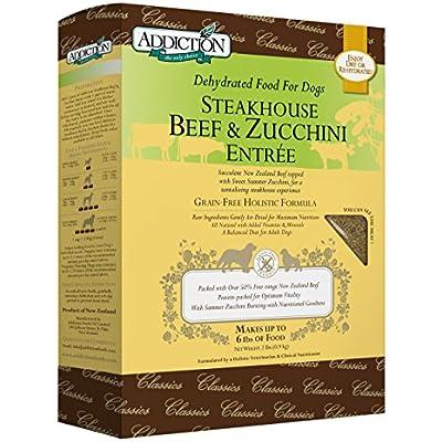 Addiction Grain Free Dehydrated Dog Food Beef & Zucchini