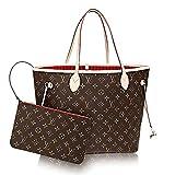 Louis Vuitton Neverfull Best Deals - Authentic Louis Vuitton Neverfull MM Monogram Canvas Cherry Handbag Article:M41177