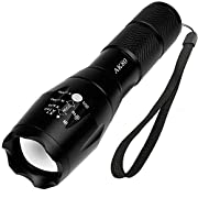 Amazon Lightning Deal 80% claimed: AuKvi AK80 Brightest Tactical Flashlight
