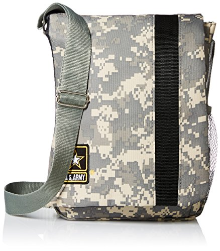 Price comparison product image US Army Camo iPad Carrier Messenger Shoulder Bag - Sale On Now!