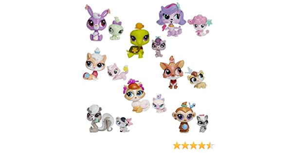 Amazon.com: Littlest Pet Shop Pet Pawsabilities Mini-Figures Wave 1 Case: Toys & Games