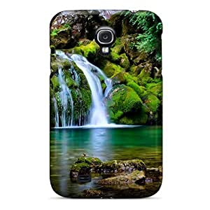 Flexible Tpu Back Case Cover For Galaxy S4 - Waterfall