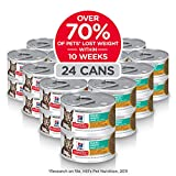 Hill's Science Diet Canned Wet Cat Food, Adult, Pe...