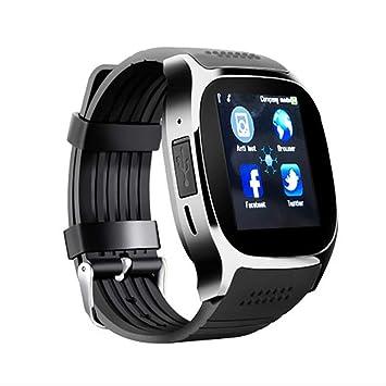 GYFKK Reloj Inteligente Smartwatch Bluetooth Tarjeta Recogida ...
